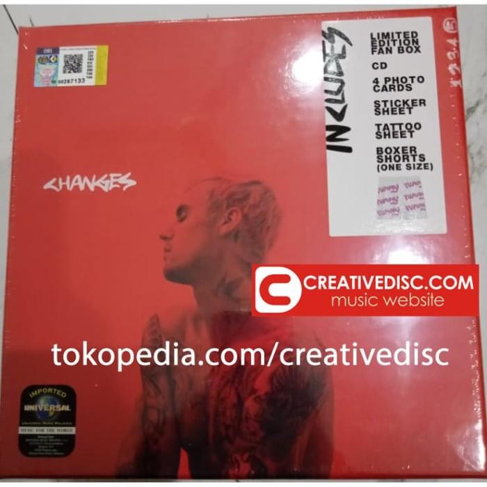 Foto Produk CD Boxset Justin Bieber - Changes Ready Stock dari Creative Disc