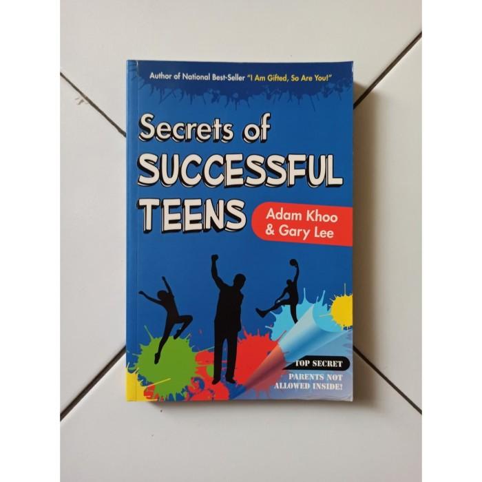 Foto Produk Buku Import Secrets of Successful Teens by Adam Khoo dari Toko Buku Bekas Aksiku