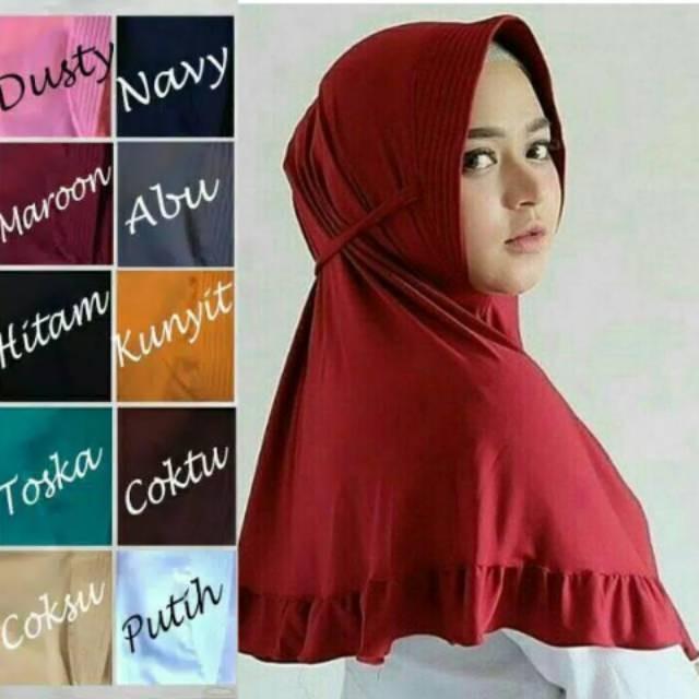 Jual Hijab Instan Khimar Pet Rempel Tali Rempel Tali Pet Tali Rempel Kab Pati Primavera Shop Tokopedia