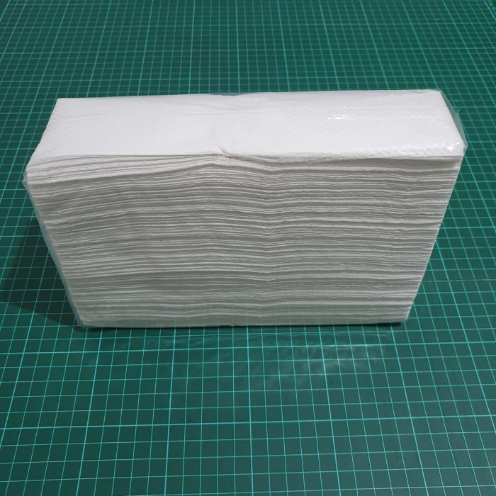 Foto Produk [SUPER MURAH] Tissue HAND TOWEL Multifold POLOS 150s dari KiosCepat