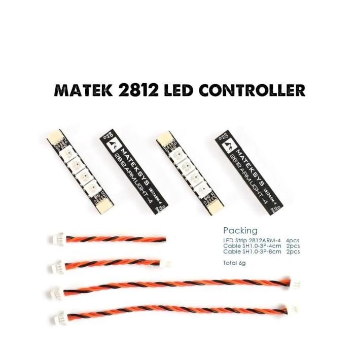 Foto Produk MATEK Led Strip Board - 2812 ARM-4 - 4 pcs dari DooFPV