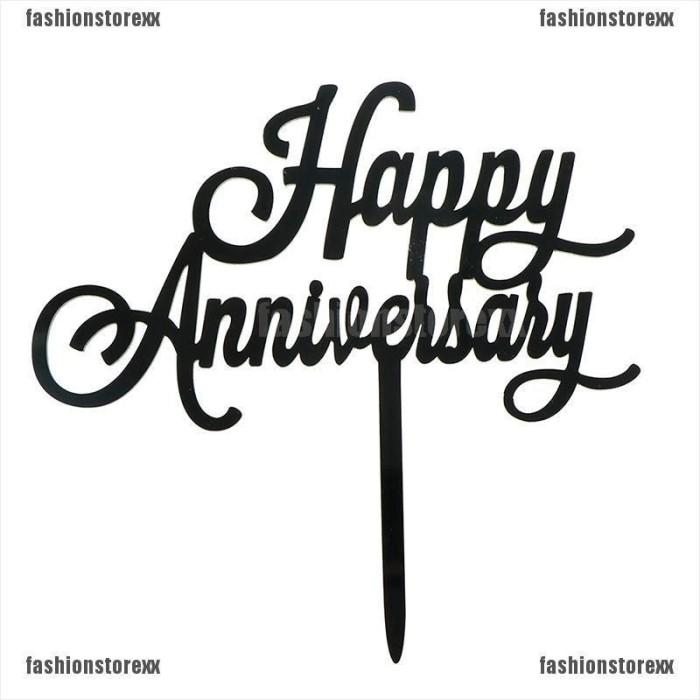 Jual Natal Topper Kue Tun Happy Anniversary Bahan Akrilik Untuk Dekorasi Kota Denpasar Bali Proxy Tokopedia