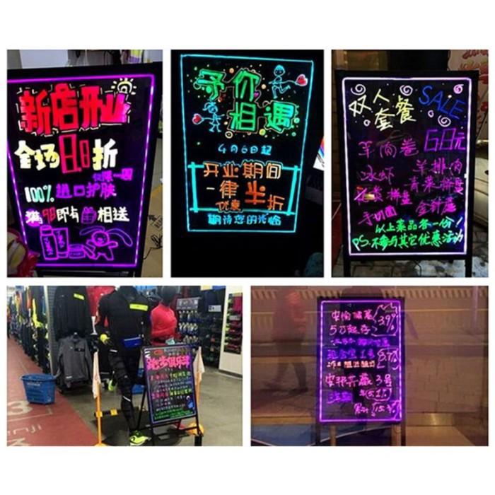 Jual Love 8 Colors Highlighter Liquid Chalk Marker Neon Pen Led Writing Jakarta Barat Mixel Jefry Tokopedia