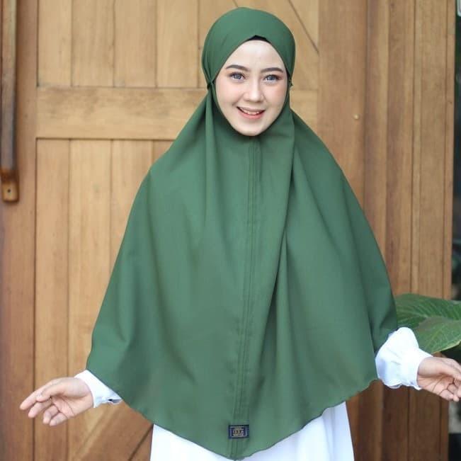 Jual Terbaru Termurah Hijab Instan Bergo Maryam Jumbo Bahan Diamond Jakarta Barat Foodsmile Tokopedia