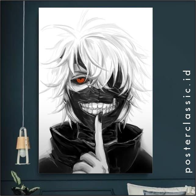 Jual Jual Poster Kayu Gambar Tokyo Ghoul Ukuran 20cm X 30cm Kota Sukabumi Posterclassicid Tokopedia