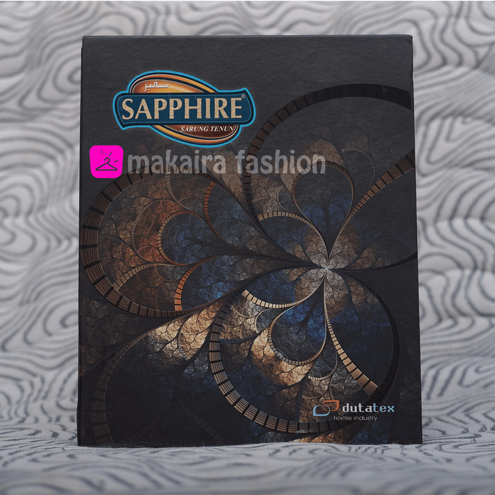 Foto Produk Sarung Tenun Sapphire dari Makaira Fashion