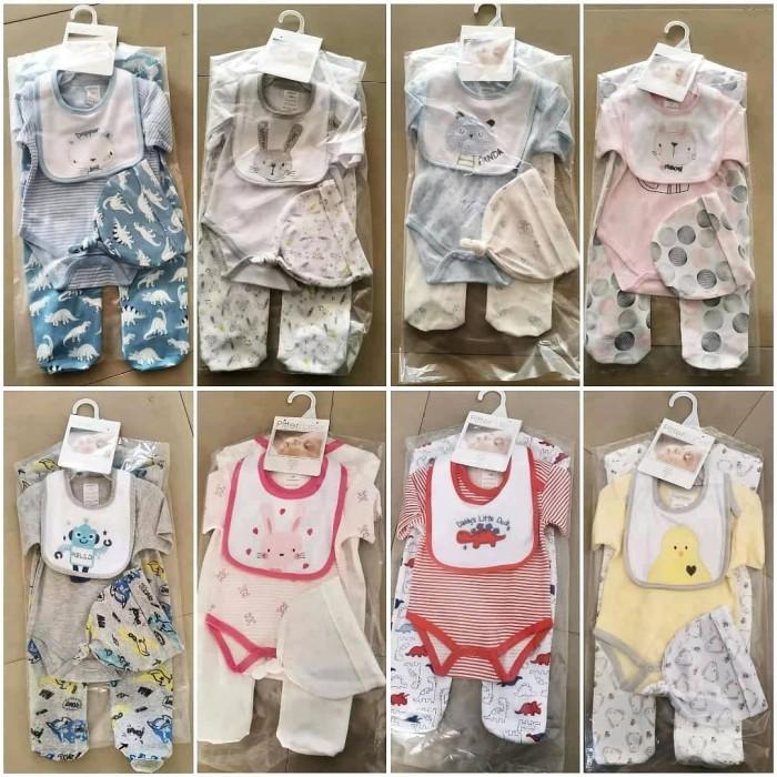 Foto Produk Set jumper bayi plus slabber topi/ pityer patter baby/set baju bayi - 4787-12 dari babyshopday