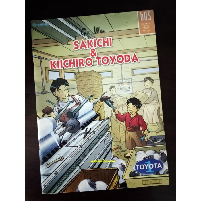 Foto Produk SAKICHI & KIICHIRO TOYODA - SERI BOS : BIOGRAFI ORANG SUKSES dari Anelinda Buku Klasik