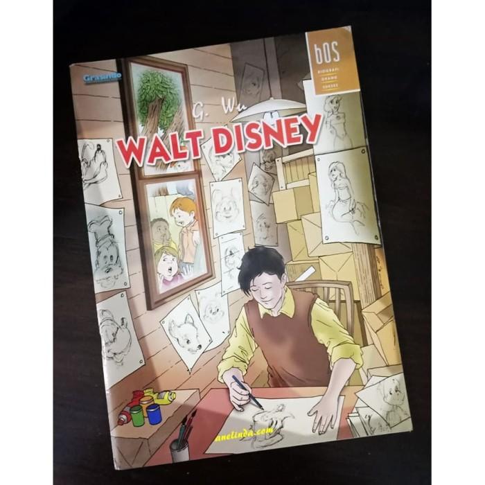 Foto Produk WALT DISNEY - SERI BOS : BIOGRAFI ORANG SUKSES dari Anelinda Buku Klasik