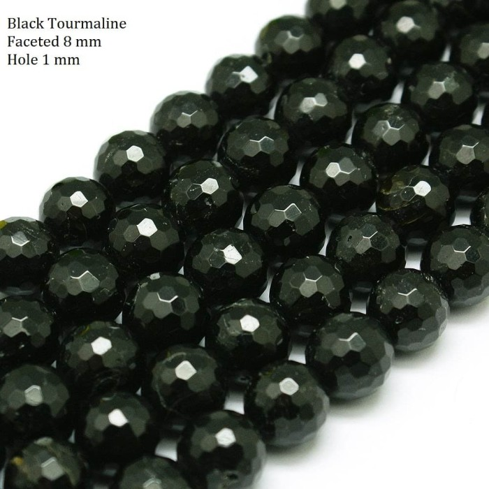 Foto Produk Batu semi mulia Tourmaline 8 mm dari Studio Manik