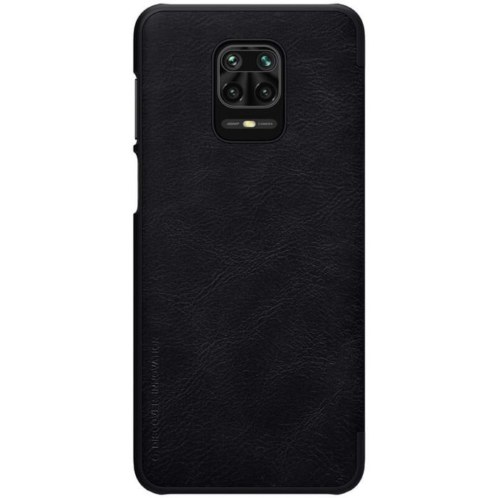 Foto Produk Nillkin Qin Series Leather case for Xiaomi Redmi Note 9 Pro - Hitam dari Toko Nillkin