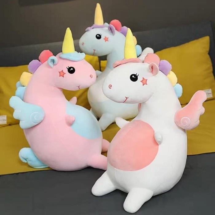 Jual Boneka Unicorn Kuda Pony Super Lembut Kota Batam Republik Boneka Tokopedia