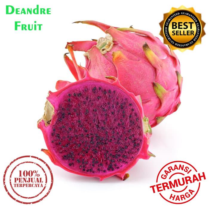 Foto Produk PROMO MURAH 1kg Buah Naga Merah SUPER JUMBO Premium Manis DIJAMIN MURA dari Deandre Fruit Market1