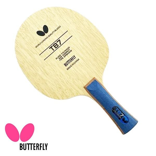 Foto Produk Bet Raket Tenis meja / Pingpong Butterfly TB7 FL dari Alat Olahraga ID