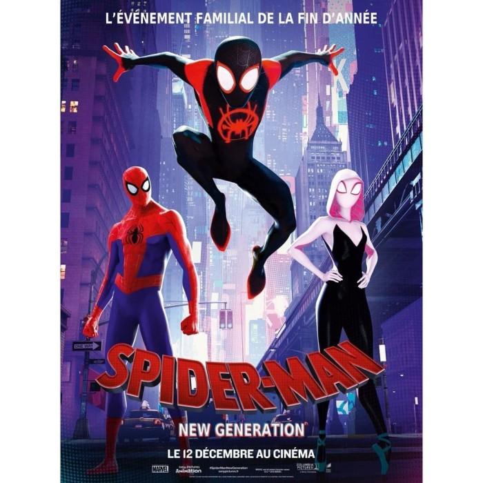 Jual Film Spider Man Into The Spider Verse 2018 Teks Indonesia Play Dvd Kota Bandung Factory Movie Dvd Tokopedia