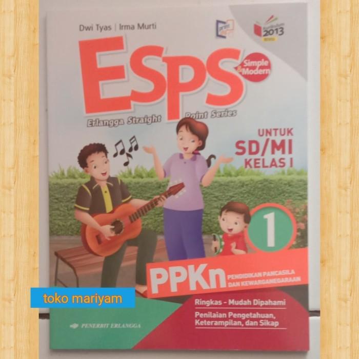 Jual Buku Paket Esps Pelajaran Ppkn Sd Kelas 1 Kurikulum 2013 Revisi Jakarta Timur Maryabooks Tokopedia