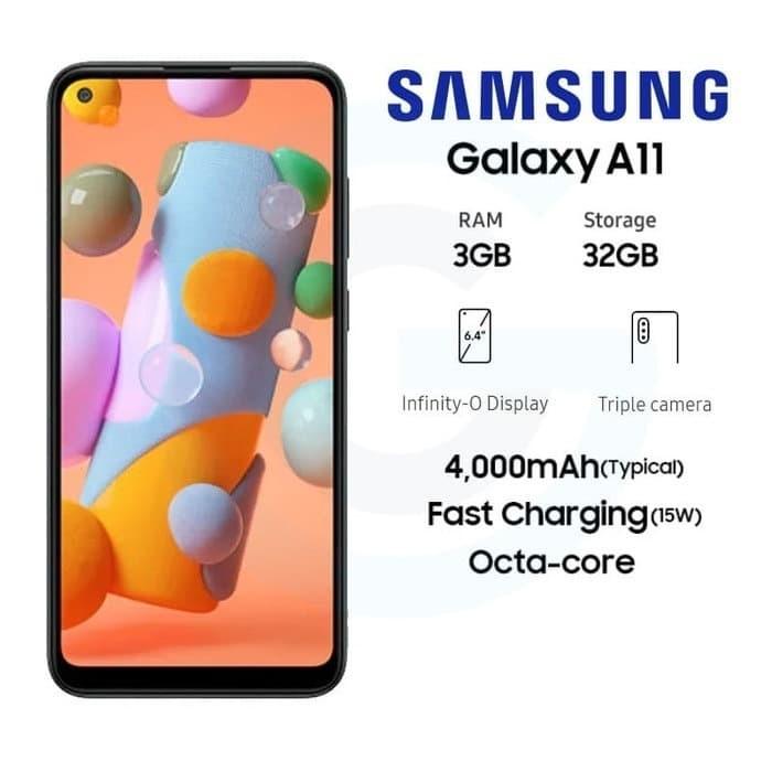 Foto Produk Samsung Galaxy A11 3/32 GB Garansi Resmi dari Antaboga Phone