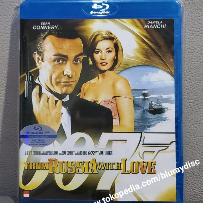 Jual Film Bluray From Russia With Love 1963 Sean Connery James Bond 007 Jakarta Pusat Bluray Disc Tokopedia