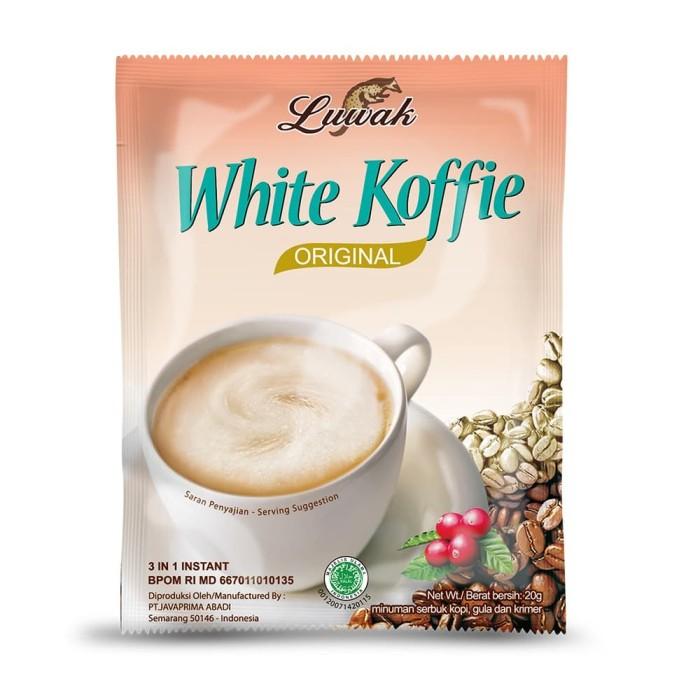 Foto Produk Kopi Luwak White Koffie Original 10x20gr (Renceng) dari Kopi Luwak Official