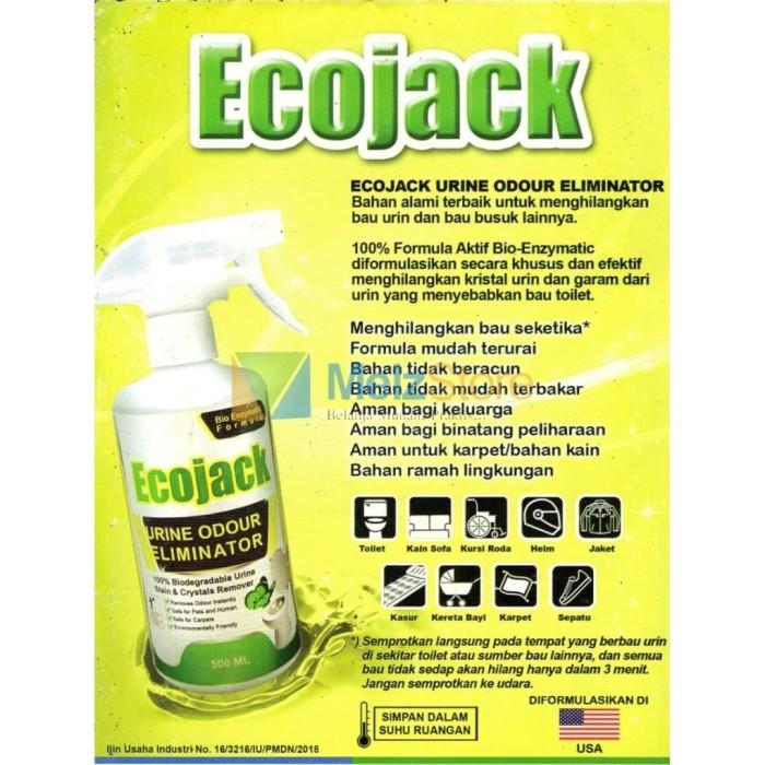 Foto Produk EcoJack Penghilang Bau URINE ODOUR ELIMINATOR HIJAU 250ml dari MelzCorp