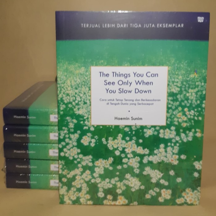 Foto Produk The Things You Can See Only When You Slow Down By HAEMIN SUNIM dari Showroom Books