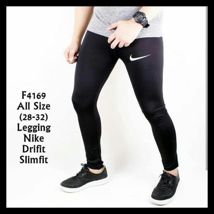 Jual Celana Legging Leging Training Pria Futsal Gym Fitness Kiper Olahraga Jakarta Selatan Aydiin Store Tokopedia