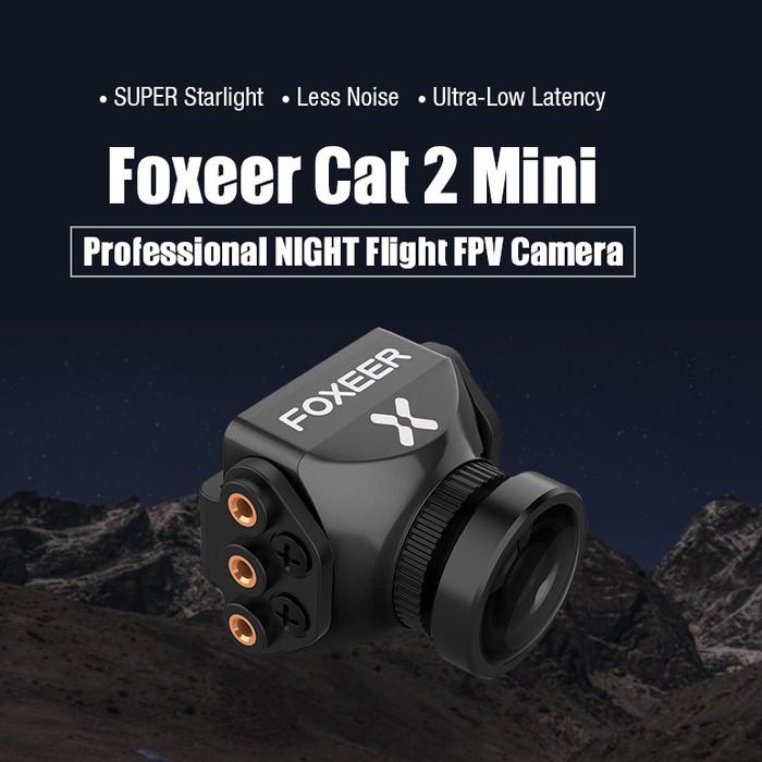 Foto Produk Foxeer Cat Mini StarLight FPV Camera Low Noise 0.0001lux Low Latency dari DooFPV