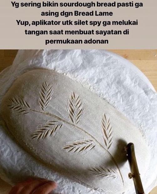 Jual Terbaru Bread Lame Scoring Knife Kayu Jakarta Selatan Dewadedewii Tokopedia