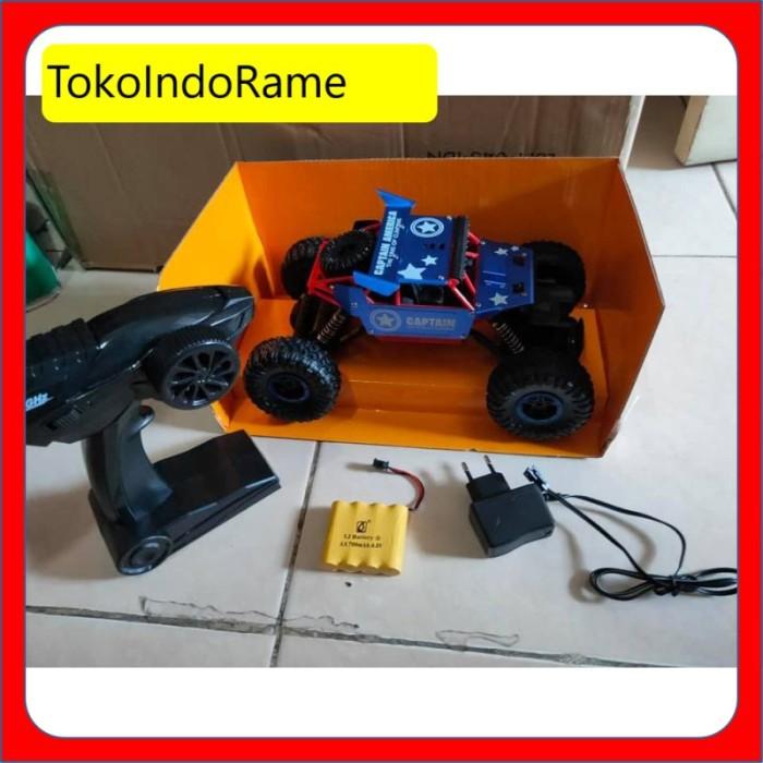 Jual Mobil Remot 4wd 2 4ghz Mainan Rc Rock Crawler Batman Herocar Batman Kota Surabaya Tokoindorame Tokopedia