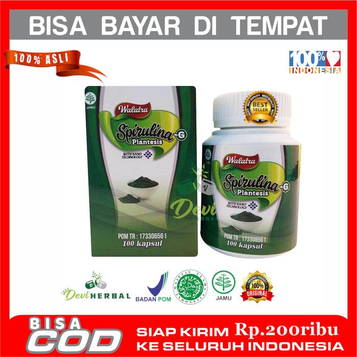 Foto Produk Obat Penggemuk Pipi, Badan & Nafsu Makan- Spirulina With NANOTEKNOLOGI dari Tokodeviherbal