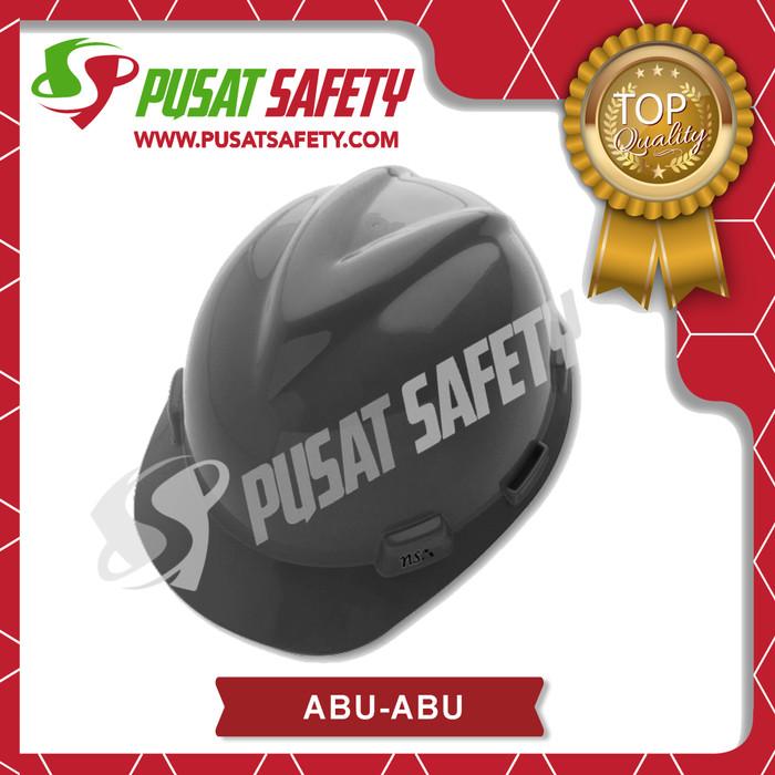 Foto Produk Helm Proyek Kerja Safety NSA V-Gard - Abu-abu dari Pusat Safety Online