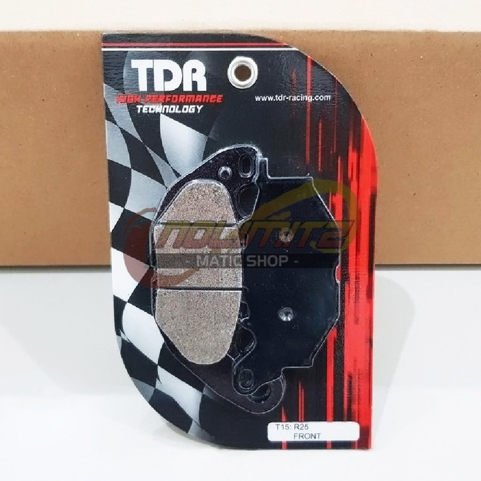 Foto Produk Kampas Rem Depan TDR Racing Ceramic Yamaha XMAX 250 R25 MT25 dari NoLimitz Maticshop