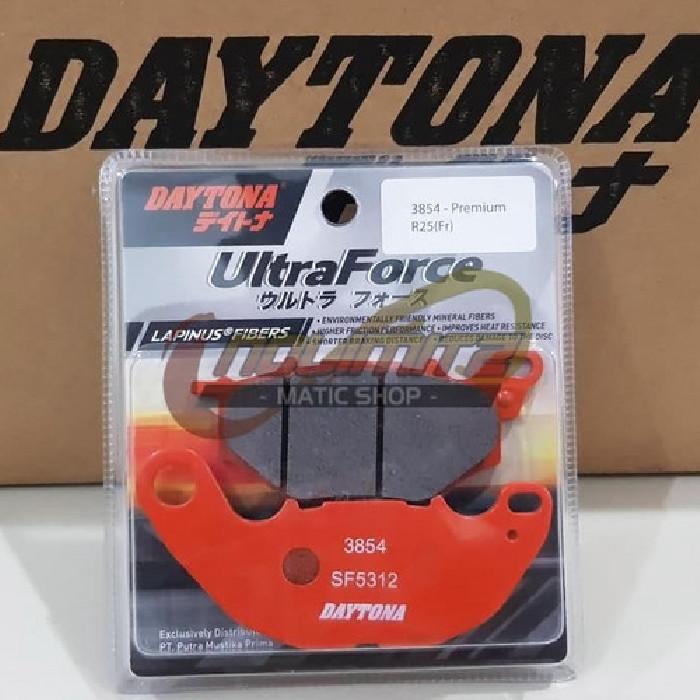 Foto Produk Kampas Rem Depan Daytona Lapinus Fibers Yamaha XMAX 250 R25 MT25 3854 dari NoLimitz Maticshop