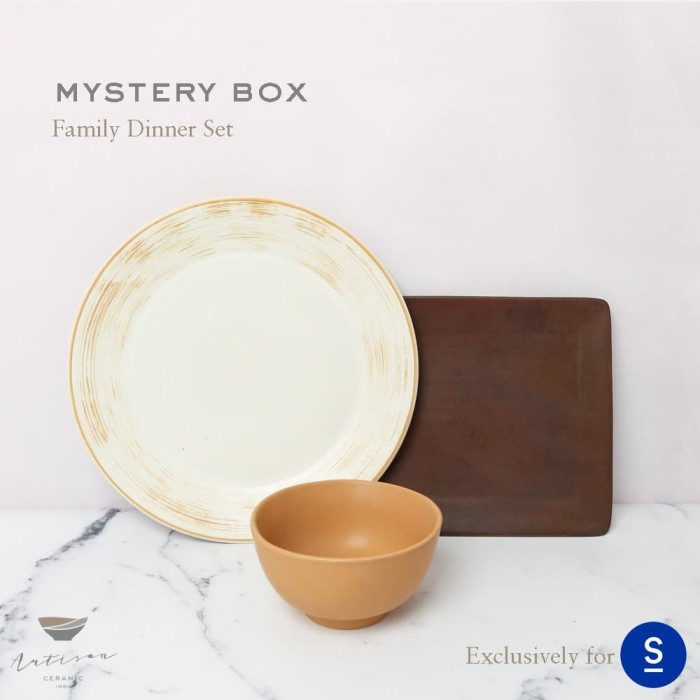 Foto Produk Artisan Ceramic | Family Dinner Set - SEMASA SPECIAL | Bundling C dari Artisan Ceramic