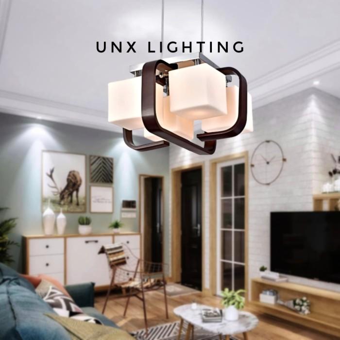 Jual LAMPU GANTUNG RUANG TAMU KELUARGA MINIMALIS LG 799/4 - Jakarta Pusat -  Unix Lighting | Tokopedia
