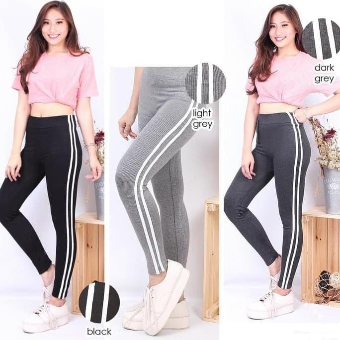 Jual Terlaris Celana Legging Wanita List Rajut Jakarta Pusat Yuvita Mall Tokopedia