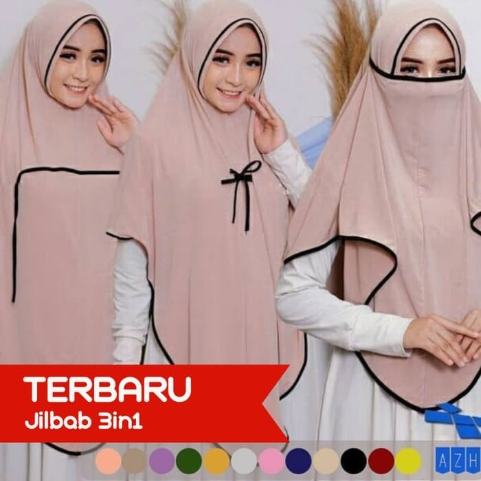 Foto Produk hijab jilbab / jilbab masker | jilbab cadar 3 in 1 dari MAG TOYS