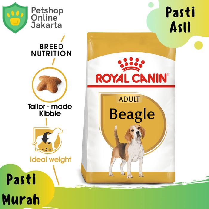 Jual Makanan Anjing Dewasa Royal Canin Beagle Adult Dry 3kg Rc Dog Food Kab Tangerang Petshop Online Jakarta Tokopedia