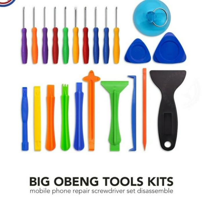 Foto Produk obeng set handphone tools opening lengkap dari spareparthp original