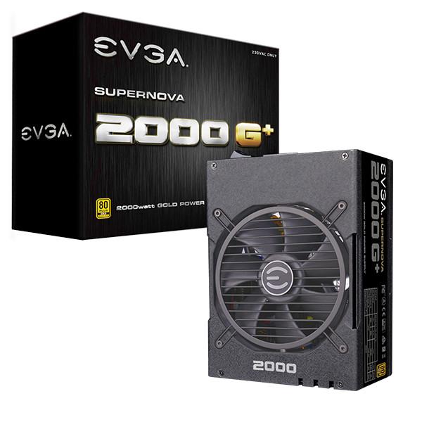 Foto Produk Power Supply EVGA Super Nova Gold 2000W PSU EVGA G+ 2000 Watt dari PojokITcom Pusat IT Comp