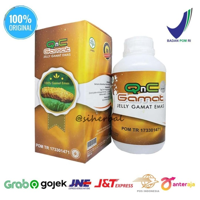 Foto Produk Obat Mucocele Herbal Qnc Jelly Gamat dari siherbal