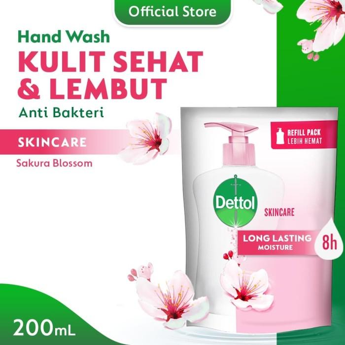 Foto Produk Dettol Sabun Cuci Tangan Skincare - Isi Ulang 200mL - Ekstra Pelembab dari Dettol Official Store