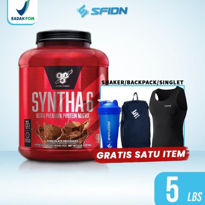 Foto Produk BSN Syntha6 Syntha 6 5 Lbs 5lbs Whey protein dari SuplemenfitnessID