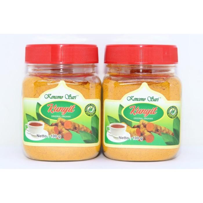 Foto Produk Jamu Kunyit Bubuk Original Organik Kencono Sari 100 gr 100% Asli dari dzidzadzu