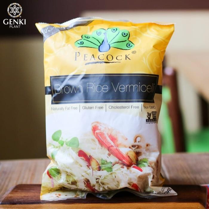 Foto Produk Peacock Brown Rice Vermicelli - 200 g dari Genki Plant