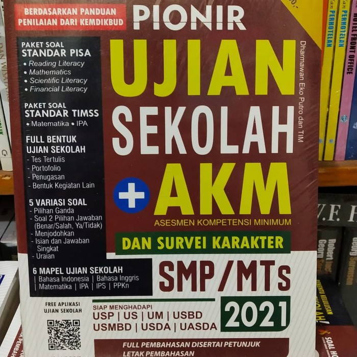 Jual Buku Pionir Ujian Sekolah Plus Akm Smp Original Terlaris Dan Termurah Kota Bandung Toko Buku Bank Ilmu Tokopedia