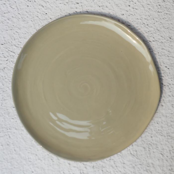 Foto Produk Artisan Ceramic | Grey Lagoon Dinner Plate | Piring Makan Keramik dari Artisan Ceramic