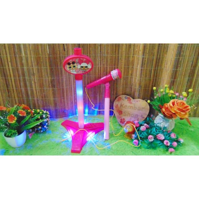 Foto Produk HD-8832 Mainan Edukasi Edukatif Anak LOL microphone Bisa Nyala Seperti dari kembartoys