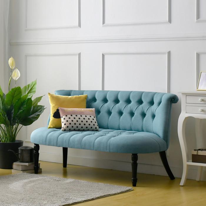 Promo Sofa Sofa Ruang Tamu Sofa Minimalis Jessie Livien Furniture Sofa Murah Biru Muda Kab Mojokerto Livien Tokopedia