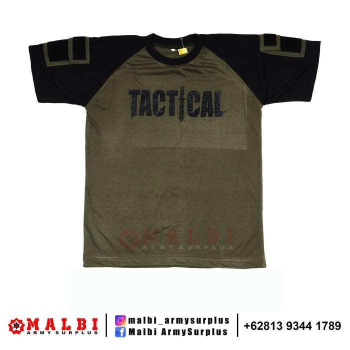 Foto Produk Kaos Tactical Pendek Hijau - M dari MALBI ARMY SURPLUS